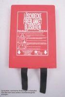#Löschdecke griffbereit z.B. unkomplizierter Brandschutz beim #Grillen - klein verpackt passt in jede Schublade