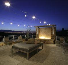Ooo-La-La!  Roof lounge overlooking Vegas by Christopher Homes