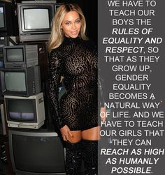Beyoncé | 17 Celebrities Who Have The Right Idea About Feminism