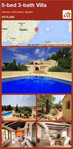 5-bed 3-bath Villa in Javea, Alicante, Spain ►€475,000 #PropertyForSaleInSpain