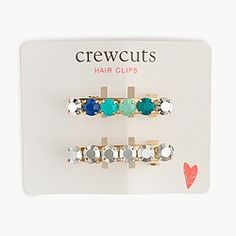 jcrew crewcuts accessories   inspire your little girl's style with a monthly box of pretty hair accessories for her   http://banabean.com   #kids #hair #fashion #style #moms #girls