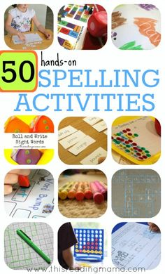 50 Hands-On Spelling Activities for Phonics and Sight Words - This Reading Mama