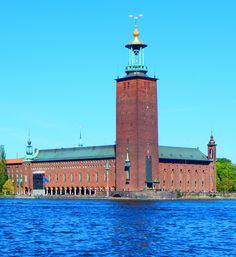 Stadshuset, Stockholm Sweden Travel, Gothenburg, Stockholm Sweden, Scotland Travel, Finland, Norway, Taj Mahal, Past, World