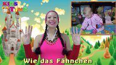 Wie das Fähnchen auf dem Turme   Pekip Lieder Fingerspiele   Γερμανικά τ...
