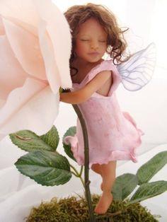 *POLYMER CLAY ~ Petal Fairy Collection by Michele Barrow-Belisle, via Behance