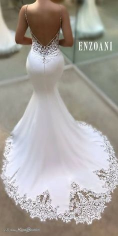 White wedding dress. Brides imagine having the most suitable wedding, however for this they require the most perfect bridal gown, with the bridesmaid's dresses enhancing the wedding brides dress. Here are a few ideas on wedding dresses.