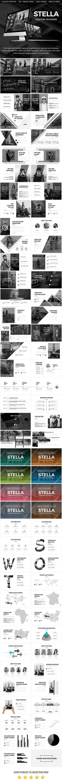 Stella  Creative Keynote Template — Keynote KEY #powerpoint #analysis • Download ➝ https://graphicriver.net/item/stella-creative-keynote-template/18807147?ref=pxcr