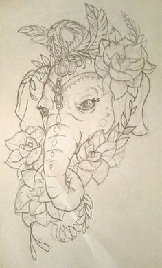 Super Tattoo Elephant Drawing Trunks Ideas Super Tattoo Elephant Drawing Trunks IdeasYou can find Elephant tattoo design and more on . Elephant Thigh Tattoo, Elephant Tattoo Design, Elephant Tattoos, Elephant Design, Mandala Elephant Tattoo, Colorful Elephant Tattoo, Art Drawings Sketches, Tattoo Drawings, Body Art Tattoos