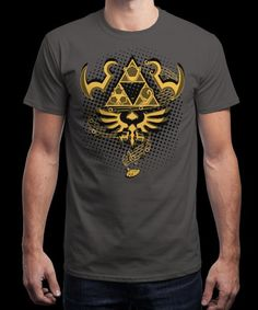 """Ocarina of Time"" is today's £8/€10/$12 tee for 24 hours only on www.Qwertee.com Pin this for a chance to win a FREE TEE this weekend. Follow us on pinterest.com/qwertee for a second! Thanks:)"