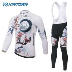 (36.40$)  Watch now - http://ai2vd.worlditems.win/all/product.php?id=32710538891 - XINTOWN mallot ciclismo cortos Bike Cycling Jersey Clothing Breathable Quick Dry Ropa Ciclismo Long Maillot Mtb downhill jersey