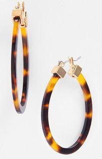 Lauren Ralph Lauren Large Oval Hoop Earrings