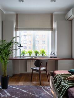 Home Office Design, House Design, Aesthetic Rooms, My Room, Room Interior, Windows, Ikea, Modern, Home Decor
