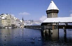 Lucerne. Even more beautiful in the summer
