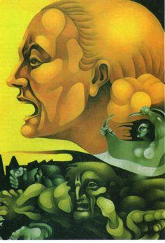 VIVENCIAS PLÁSTICAS: RICARDO CARPANI (1930-1997) / TRIBULACIONES Cuba, First Art, Painting & Drawing, Bowser, Scooby Doo, Modern Art, Mona Lisa, Drawings, Artwork