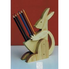 kangaroo pencil holder