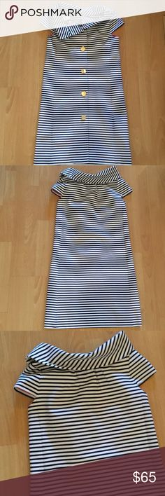 New Kate Spade dress striped size xs New Kate Spade striped dress size xs ,no tags on ,never used kate spade Dresses Midi
