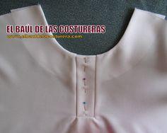EL BAÚL DE LAS COSTURERAS: Confección aletilla o tapeta para Polo