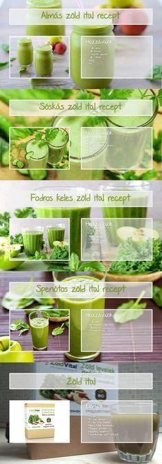 A zöld ital receptek egyre nagyobb népszerűségnek örvendenek. Ez többek között annak is köszönhető, hogy az emberek egyre tudatosabban táplálkoznak és törekednek az egészséges táplálkozásra. Mango Avocado Salsa, Healthy Drinks, Cantaloupe, Healthy Life, Smoothies, Detox, Paleo, Food And Drink, Ice Cream