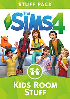 Spark the imagination of Sims with new items to personalise kids' bedrooms in The Sims 4 Kids Room Stuff. Collect and trade monster cards, then bring them to life in the electronic battle station. Sims Four, Mods Sims, The Sims 4 Packs, Sims 4 Game Packs, Sims Pc Game, Game Codes, Maxis, Sims 4 Cc Furniture, Kids Furniture