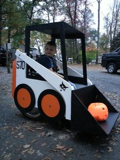 Zachs Wheelchair Costume Skid Loader  For additional resources please join us at: http://www.smartappsforspecialneeds.com
