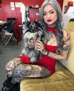 Ryan Ashley Told Us 10 Things About Herself - Tattoo Ideas, Artists and Models Hot Tattoo Girls, Tattoed Girls, Inked Girls, Ink Master Ryan, Sexy Tattoos, Girl Tattoos, Tatoos, Ryan Ashley Malarkey, Female Tattoo Models