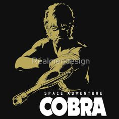 Space Adventure Cobra Japan Classic Retro Anime Manga