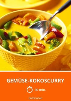 Gemüse-Kokoscurry - smarter - Zeit: 30 Min. | eatsmarter.de