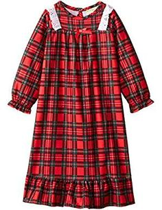 Komar Kids Traditional Holiday Nightgown. >>> Visit the image link more details. (This is an affiliate link) #Nightgowns
