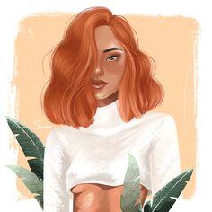 on Behance Digital Art Girl, Digital Portrait, Portrait Art, Portrait Illustration, Digital Illustration, Illustration Fashion, Fashion Illustrations, Illustrations Posters, Girl Cartoon
