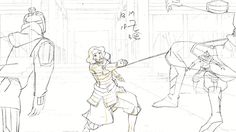 Legend of Korra - Pencil Test