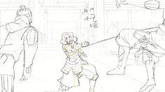 Legend of Korra - Pencil Test