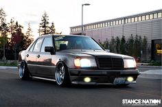 merc w124 by stance nation