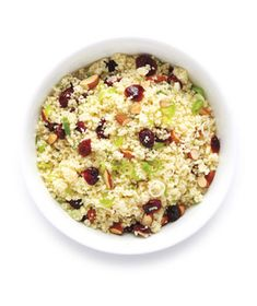 Couscous with Cranberries and Almonds | Recipe | Couscous, Cranberries ...