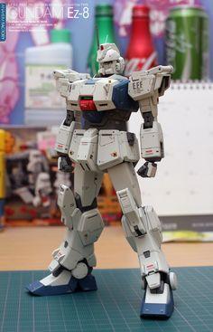 """[MG] RX-79(G) ガンダムEz-8""強化型"" 最終的なバランスチェック!!!"""