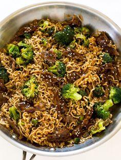 Beef & Broccoli Ramen Noodles   Food Recipes