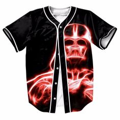 men's shirts Vader Jersey 3D OVERSHIRT BASEBALL SHIRT  TOPS STREETWEAR HIP HOP with Single Breasted SUMMER STYLER TOP TEES   Read more at Bargain Paradise : http://www.nboempire.com/products/mens-shirts-vader-jersey-3d-overshirt-baseball-shirt-tops-streetwear-hip-hop-with-single-breasted-summer-styler-top-tees/