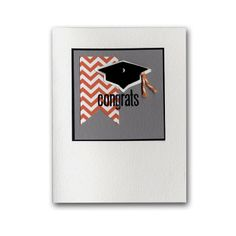 Congrats Small Grad Hat Card