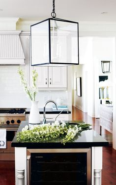 love the light fixture and the rest of the kitchen isn't that bad either