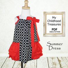 My Childhood Treasures : Summer Dress ----->1/8Y