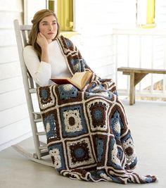 Isobels Afghan Pattern Afghan Crochet Patterns, Crochet Motif, Free Crochet, Knit Crochet, Blanket Patterns, Crochet Stitches, Crochet Things, Crochet Granny, Tapestry Crochet