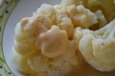 Making Miracles : Velveeta Cheese Sauce for Steamed Cauliflower or Broccoli