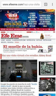 Les gustaría conocer los estudios Abbey Road ? Ya lo pueden hacer desde la comodidad de su casa