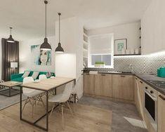 Modernes fronts cuisines de chêne noir plan de travail