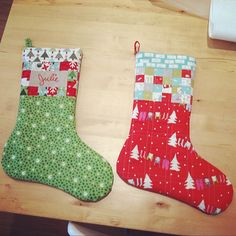 tutorial for these stockings now available from @pellonprojects !!