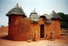 Un Tata Somba au nord du Bénin