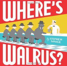 Where's Walrus? by Stephen Savage http://smile.amazon.com/dp/0439700493/ref=cm_sw_r_pi_dp_Pesqxb1HYFBHR