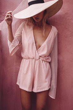 Buy Mesh Playsuit - Nectar Online - Playsuits - Women's Clothing & Fashion - SABO SKIRT