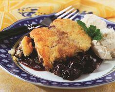 Cherry Pudding Cake #NWCherries  #ilovenorthwestcherries