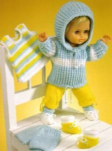 Index - Country Yarns Baby Booties Knitting Pattern, Knitting Wool, Vintage Knitting, Baby Knitting Patterns, Baby Doll Clothes, Doll Clothes Patterns, Doll Patterns, Baby Dolls, Knitted Dolls