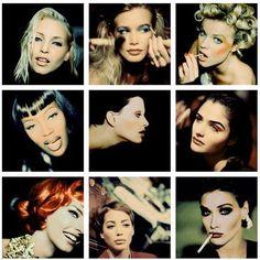 Backstage portraits by Rohn Meijer, 1991-1993. #soviolet